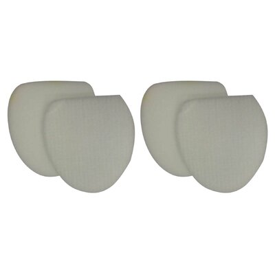 4 Piece Shark Felt Filter and Foam Filter Set 701980785641