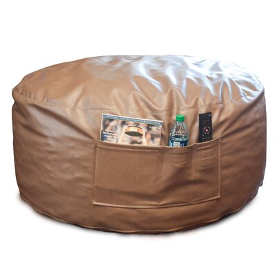 Bean Bag Lounger Upholstery: Bark (Brown)