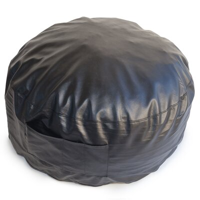 Bean Bag Lounger Upholstery: Black