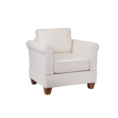 Simplicity Sofas Megan Arm Chair Slipcover - Upholstery Color: Sand