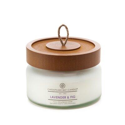 Hertitage Lavender & Fig Jar Candle