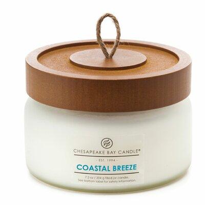 Chesapeake Bay Candle Heritage Coastal Breeze Glass Jar Candle