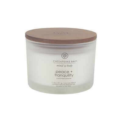Mind and Body Scented Jar Candle PT40234