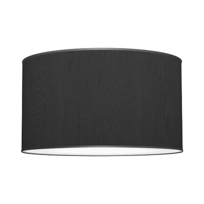 Three In One 3-Light Drum Pendant Shade Color: Ebony