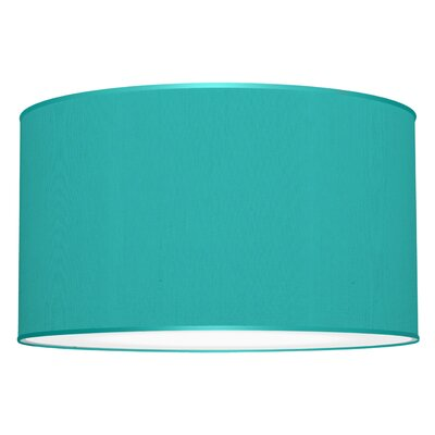 Tryptic 3-Light Drum Pendant Shade Color: Turquoise