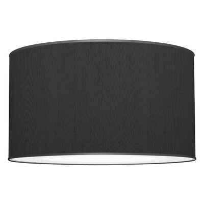 Tryptic 3-Light Drum Pendant Shade Color: Ebony