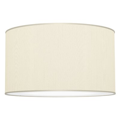 Three In One 3-Light Drum Pendant Shade Color: Cream