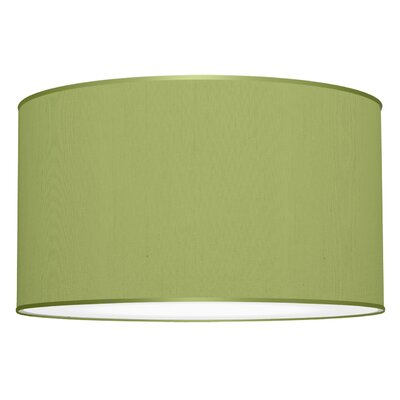 Three In One 3-Light Drum Pendant Shade Color: Verde