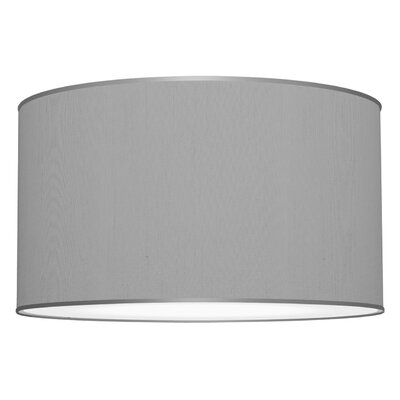 Tryptic 3-Light Drum Pendant Shade Color: Gunmetal