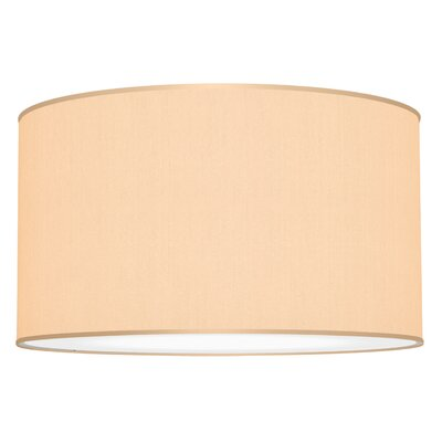 Tryptic 3-Light Drum Pendant Shade Color: Champagne