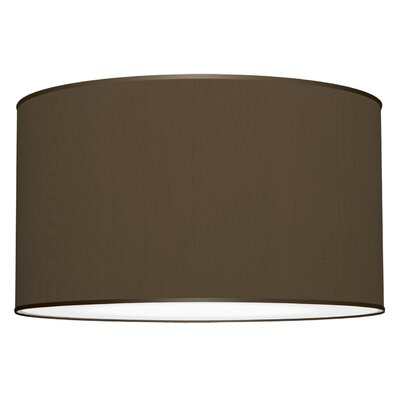 Three In One 3-Light Drum Pendant Shade Color: Chocolate
