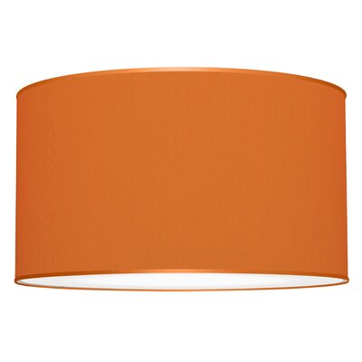 Tryptic 3-Light Drum Pendant Shade Color: Orange