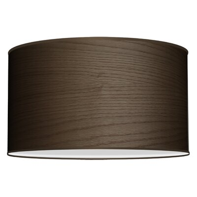 Three In One 3-Light Drum Pendant Shade Color: Walnut Stained