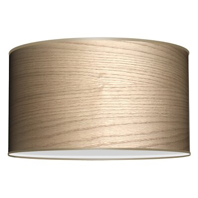 Three In One 3-Light Drum Pendant Shade Color: Natural