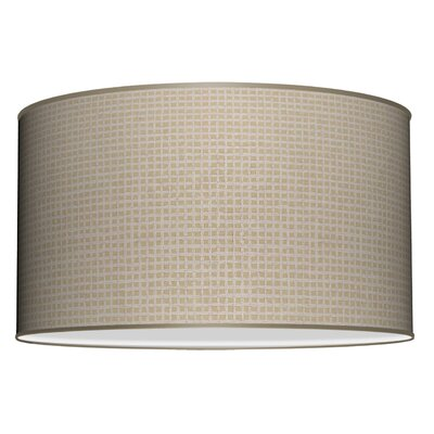 Tryptic 3-Light Drum Pendant Shade Color: Crosshatch