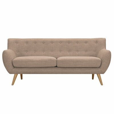Ida Sofa Upholstery: Light Sand, Frame Finish: Natural