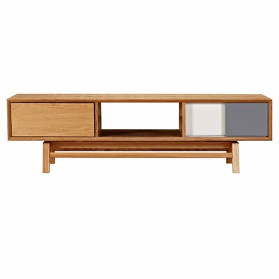 Grane 63 TV Stand Color: Natural