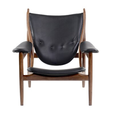 Bjorn Arm Chair Color: Jet Black