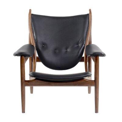 Bjorn Armchair Upholstery: Jet Black