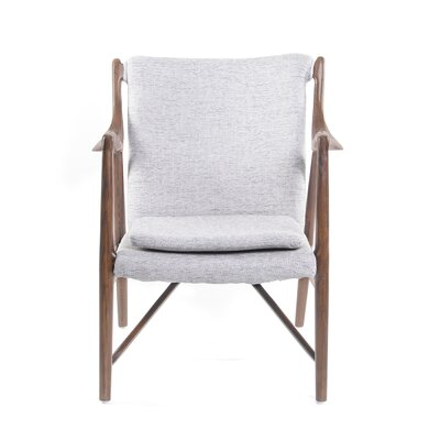 Gustaf Guest Chair Seat Color: Horizon Gray