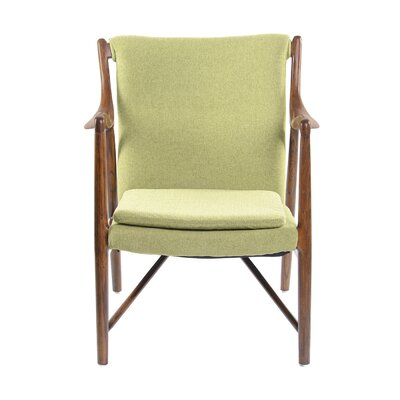 Gustaf Guest Chair Seat Color: Wasabi Green