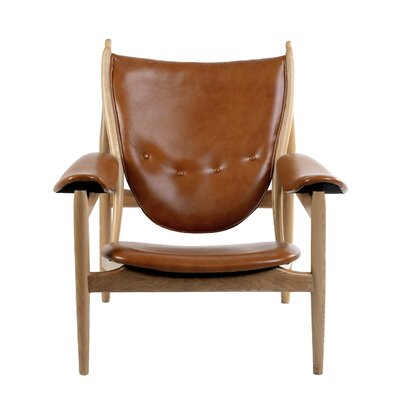 Bjorn Arm Chair Color: Burnt Orange