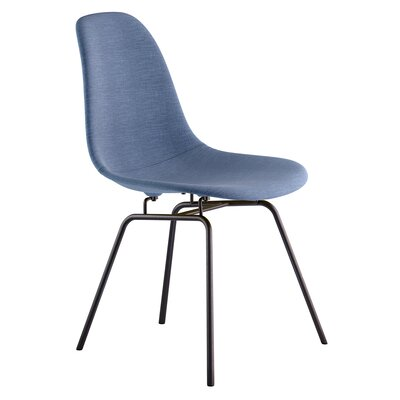 Classroom Side Chair Color: Dodger Blue, Finish: Gunmental