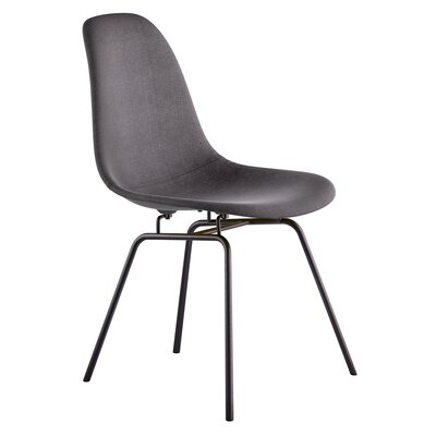 Classroom Side Chair Color: Charcoal Gray, Finish: Gunmental