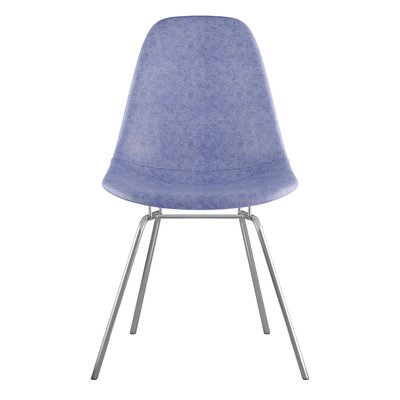 Classroom Side Chair Color: Weathered Blue, Finish: Gunmental