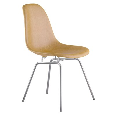 Classroom Side Chair Color: Aged Maple, Finish: Nickel
