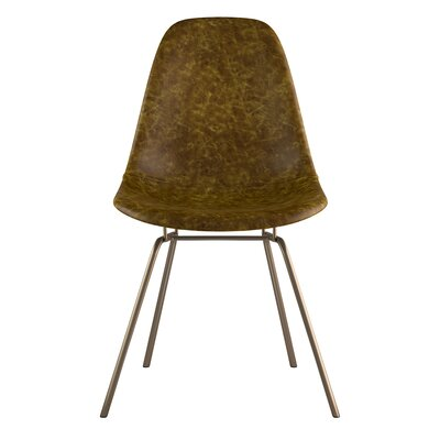 Classroom Side Chair Color: Palermo Olive, Finish: Brass