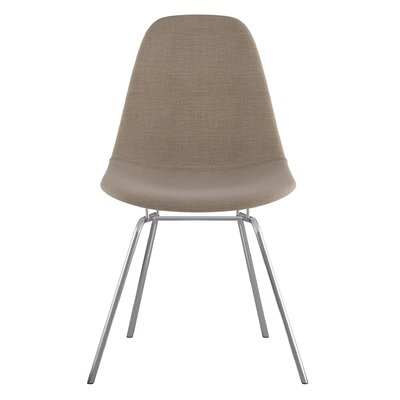 Classroom Side Chair Upholstery: Light Sand, Finish: Nickel