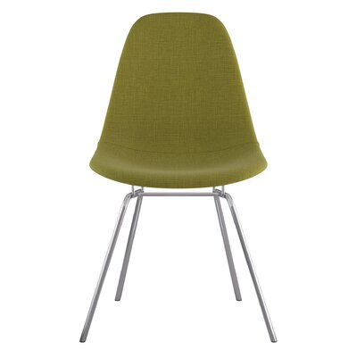 Classroom Side Chair Color: Avocado Green, Finish: Nickel
