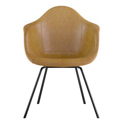 Classroom Arm Chair Seat Color: Aged Maple, Leg Finish: Gunmetal