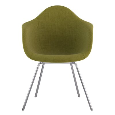 Classroom Arm Chair Upholstery: Avocado Green, Finish: Nickel