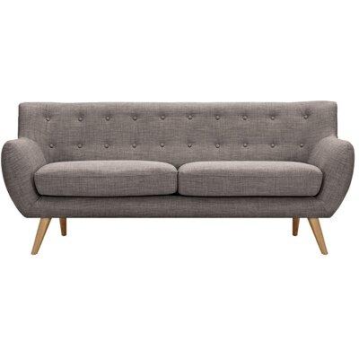 Ida Sofa Upholstery: Aluminium Gray, Frame Finish: Natural