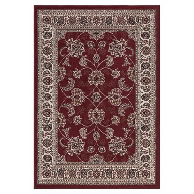 Clifton Oriental Red Area Rug Rug Size: 710 x 910