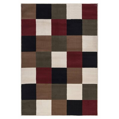 Clifton Multi-Colored Area Rug Rug Size: 710 x 910