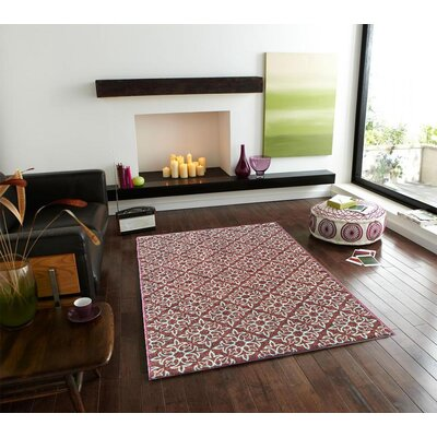 Sweet Home Damask Brown Area Rug Rug Size: 33 x 411