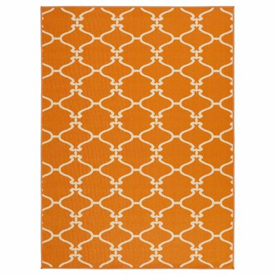 Clifton Orange Area Rug