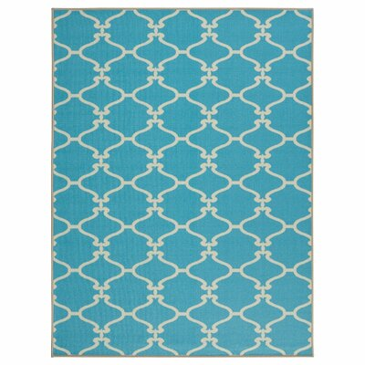 Clifton Blue Area Rug