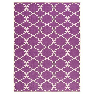 Clifton Purple Area Rug