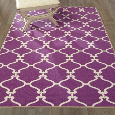 Clifton Purple Area Rug