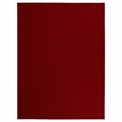 Clifton Red Area Rug Rug Size: 5 x 66