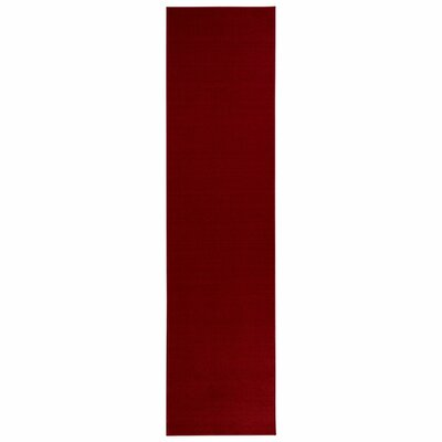 Clifton Red Area Rug Rug Size: Runner 27 x 10