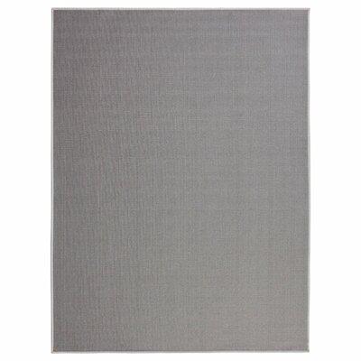 Clifton Gray Area Rug Rug Size: 5 x 66