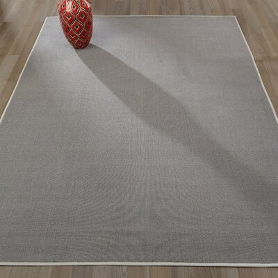 Clifton Gray Area Rug Rug Size: 5 x 66