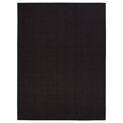 Clifton Black Area Rug Rug Size: 5 x 66