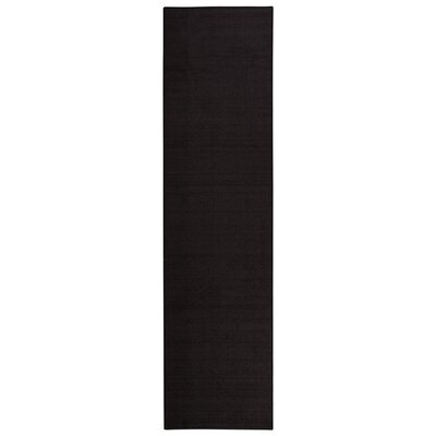 Clifton Black Area Rug Rug Size: Runner 27 x 10