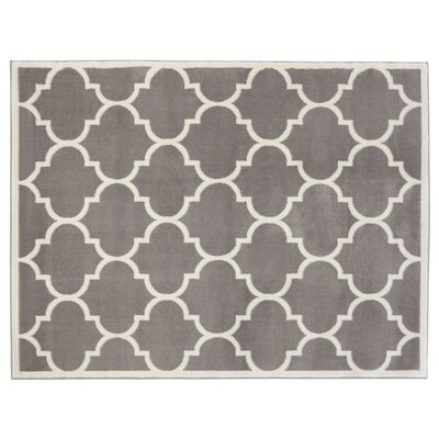 Clifton Gray Area Rug Rug Size: 710 x 910
